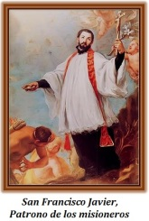 San Francisco Javier - Patrono de los misioneros
