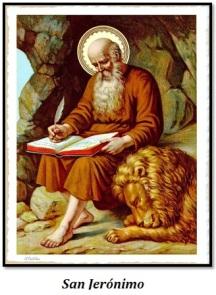 San Jerónimo - Y el león
