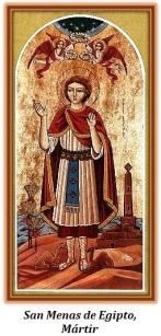 San Menas de Egipto - Mártir