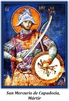 San Mercurio de Capadocia - Mártir