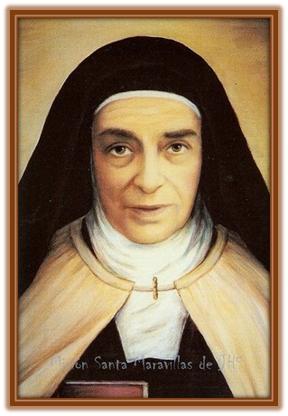 Santa Maravillas de Jesús - Carmelita Descalza
