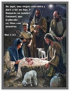 Dios con nosotros - Nacimiento de Jesús