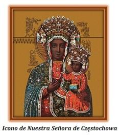 Icono de Nuestra Señora de Częstochowa