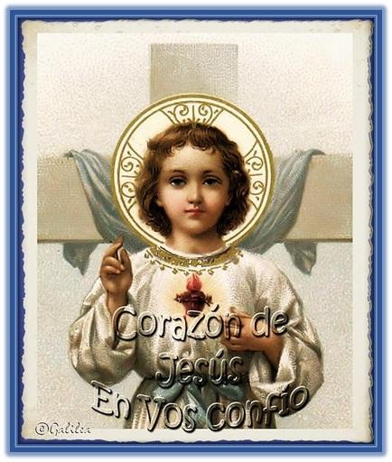 Niño Jesús - Corazón de Jesús