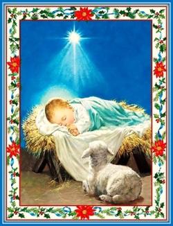 Niño Jesús y cordero
