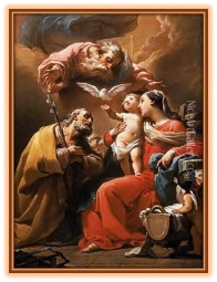 Sagrada Familia - Dios Padre y Espíritu Santo