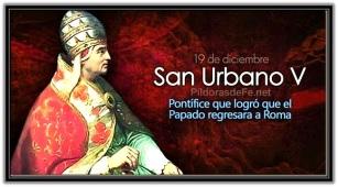 San Urbano V, Papa