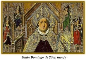 Santo Domingo de Silos, monje