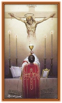 Jesús en la Eucaristia