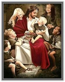 Jesucristo dejad que los niños se hacerquen a Mí