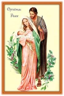 Sagrada Familia - Navidad