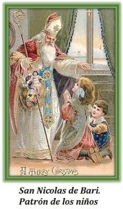 San Nicolas de Bari - Patrón de los niños