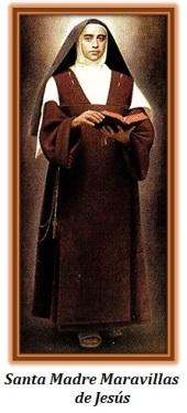Santa Madre Maravillas de Jesús