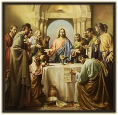 institución de la eucaristia
