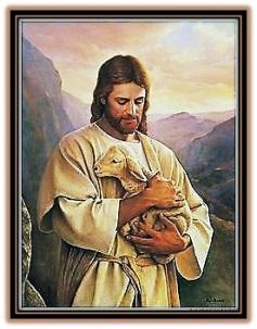 jesús y la obeja