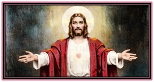 jesucristo y llagas en las manos