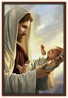 jesucristo y niño