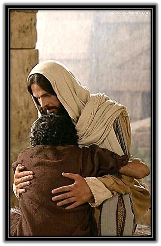 jesucristo y pecador arrepentido
