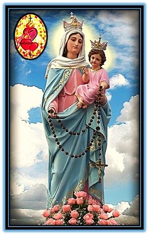 nuestra señora del rosario - flores