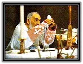 padre pio - santa misa