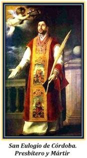 san eulogio de córdoba presbítero y mártir