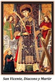 san vicente, diacono y martir