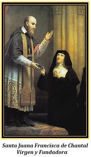 santa juana francisca de chantal - virgen y fundadora