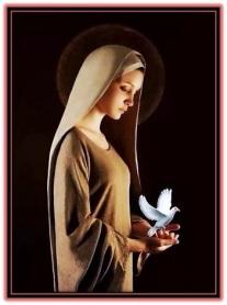virgen maría y espíritu santo