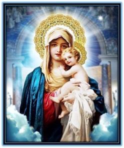 Bendita y amada Santa Madre de Dios
