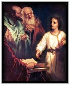 Jesús en el templo con los doctores