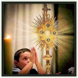 Jesús Sacramentado - Niño