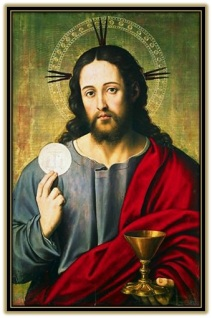 Jesús - Sagrada Hostia y Cáliz