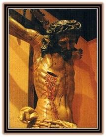 Jesucristo herida en el costado