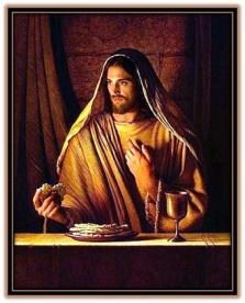 Jesucristo institución de la Eucaristía