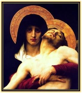 María Dolorosa con Jesús en sus brazos