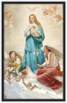 María, Espíritu Santo y los ángeles