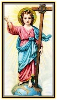 Niño Jesús - Cruz - Mundo