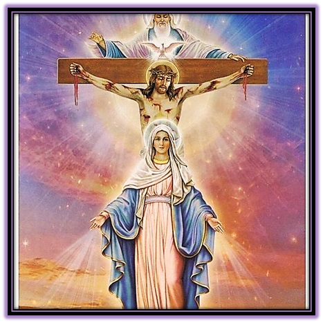Padre, Hijo y Espíritu Santo y María