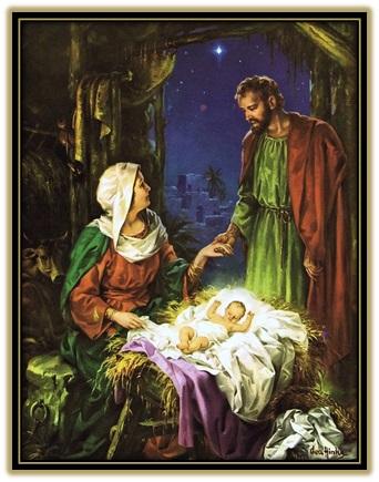 Sagrada Familia - José y María de la mano
