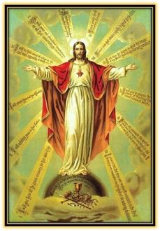 Sagrado Corazón de Jesús Rey del Universo