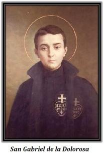 San Gabriel de la Dolorosa - retrato