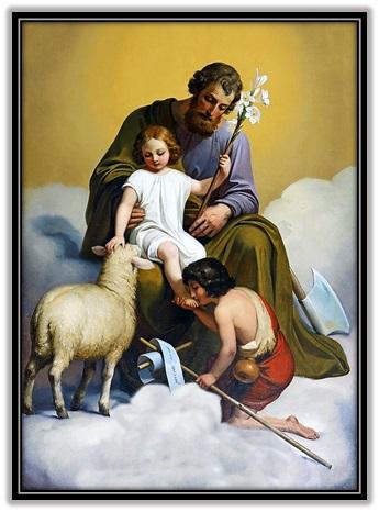 San José, Niño Jesús y San Juan Bautista