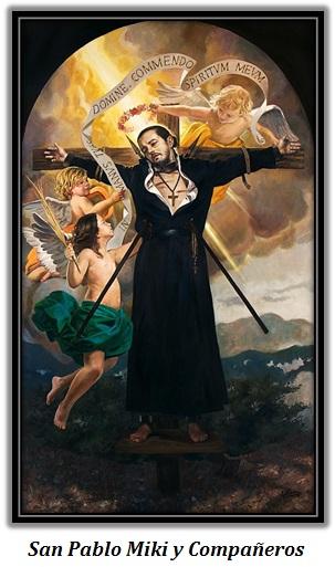 San Pablo Miki y Compañeros - ángeles