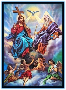 Santisima Trinidad y loa ángeles