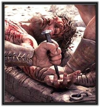 Jesús clavado
