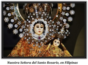 Nuestra Señora del Santo Rosario, en Filipinas