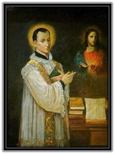 San Claudio la Colombiere y Jesús