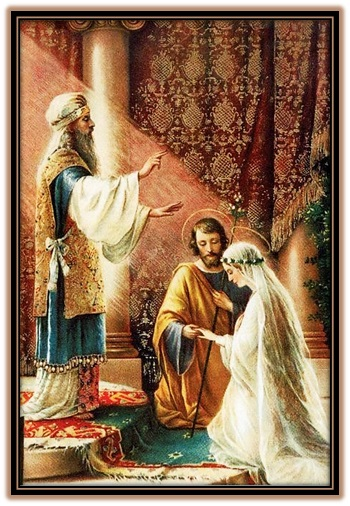 San José y María matrimonio