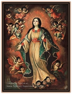 VVirgen Inmaculada Hispanoamérica arte Colonial