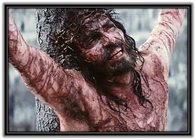 Jesús Crucificado implorando al Padre